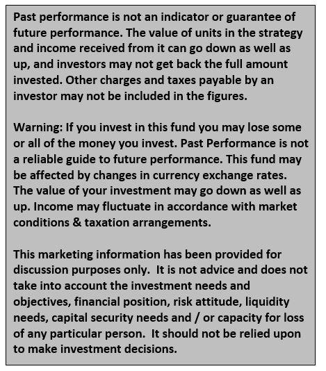 Performance of the Harvest Cash Alternative Strategy