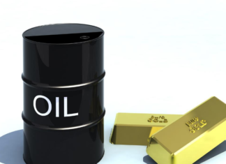 gold and oil